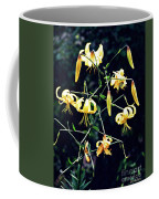 Yellow Lilies In Fort Tryon Park Coffee Mug