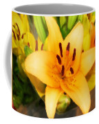 Yellow Lily Coffee Mug
