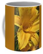 Yellow Lily Shines Brightly  Coffee Mug