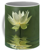Yellow Lily With Reflections Coffee Mug