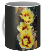 Yellow Long- Spined Prickly Pear Cactus  Coffee Mug