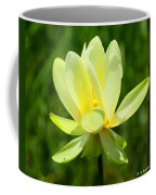 Yellow Lotus Coffee Mug