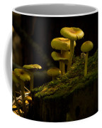 Yellow Mushrooms Coffee Mug
