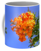 Yellow-orange Horn Flowers 01 Coffee Mug
