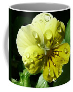 Yellow Pansy Coffee Mug