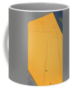 Yellow Pavement Coffee Mug