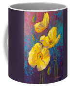 Yellow Poppies Coffee Mug