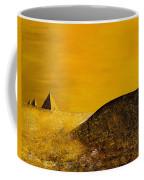 Yellow Pyramid Coffee Mug