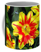 Yellow Red Flower Coffee Mug