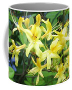 Yellow Rhododendron Coffee Mug