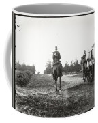 Yellow Riders On Horseback Near Arnhem Coffee Mug