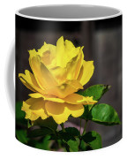 Yellow Rose Of Los Gatos Coffee Mug