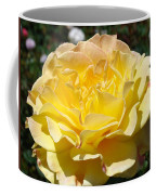Yellow Rose Sunlit Summer Roses Flowers Art Prints Baslee Troutman Coffee Mug