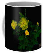 Yellow Roses Coffee Mug