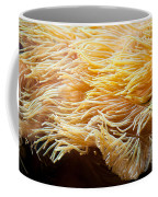 Yellow Sea Anemones Macro Coffee Mug