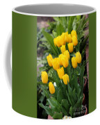 Yellow Spring Tulips Coffee Mug