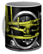 Yellow Steel Coffee Mug