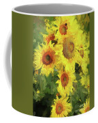 Yellow Sunflowers Coffee Mug