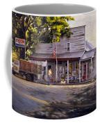 Yellow Sweater Freeman Store Coffee Mug