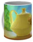 Yellow Teapot And Bowl Coffee Mug
