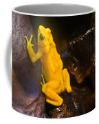 Yellow Tropical Frog Coffee Mug
