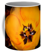 Yellow Tulip - Close Up Coffee Mug