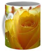 Yellow Valentine Roses - 4 Coffee Mug