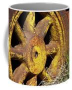 Yellow Wheel Coffee Mug