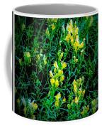 Yellow Wild Flowers In Late Summer Coffee Mug