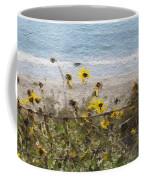 Yellow Wildflowers- Art By Linda Woods Coffee Mug