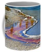 Yellowstone Abstract I Coffee Mug by Teresa Zieba