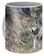 Yellowstone Grey Wolf Coffee Mug
