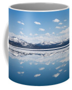 Yellowstone Lake Reflection Coffee Mug