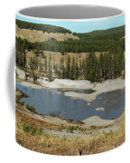 Yellowstone Mineral Ponds Coffee Mug