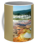 Yellowstone Park Firehole Spring Area Vertical 02 Coffee Mug
