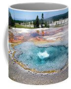 Yellowstone Park Firehole Spring In August 02 Coffee Mug