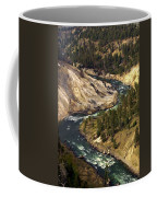 Yellowstone River Canyon Coffee Mug