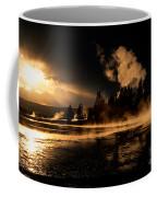 Yellowstone River Sunrise Coffee Mug