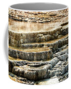 Yellowstone Rock Formation Coffee Mug