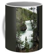 Yellowstone Waterfall Coffee Mug