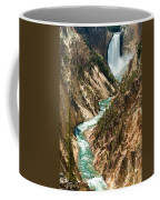 Yellowstone Waterfalls Coffee Mug