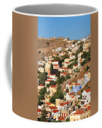 Yialos Town On Symi Island Coffee Mug