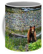 Yikes, It's A Grizzly Coffee Mug