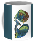 Yin Yang Dragons Coffee Mug by Barbara McConoughey