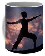 Yoga Sunset Coffee Mug
