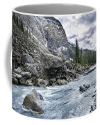 Yoho River At Takakkaw Falls Coffee Mug