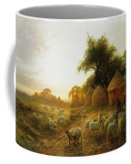 Yon Yellow Sunset Dying In The West Coffee Mug