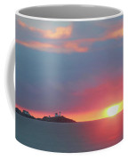 York Harbor At Dawn Coffee Mug