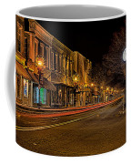 York South Carolina Downtown During Christmas Coffee Mug