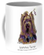 Yorkshire Terrier Pop Art Coffee Mug